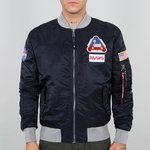 Alpha Industries Flight Jacket | MA-1 LW mission to Mars | 07 rep. blue
