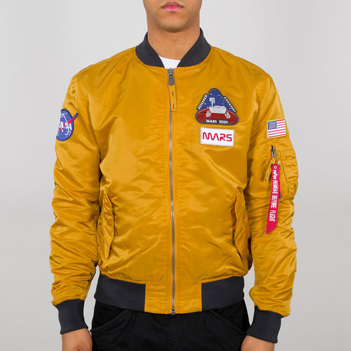 Alpha Industries Flight Jacket | MA-1 LW-oppdrag til Mars | 441 hvete