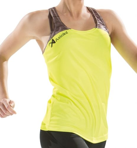 Running tank top | Woman | Asioka | 401 / 17S