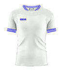 Soccer Jersey S / S | GIOS | Gress 201005 | white / royal