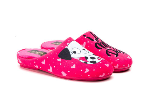 Girl house slippers | 810 Fuxia